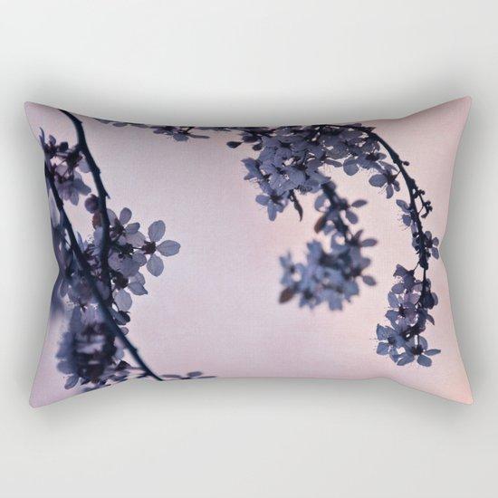 blossoms at dusk Rectangular Pillow