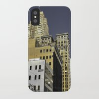 buildings iPhone & iPod Cases featuring BUILDINGS by detroit vibes