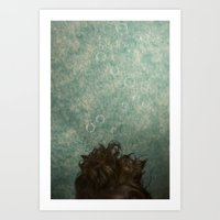 Dreaming Underwater Art Print