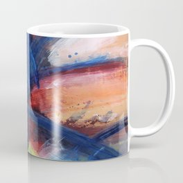 Primary 3. Bright, abstract painting Coffee Mug