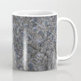 Dirty Rough Gouged Concrete Coffee Mug