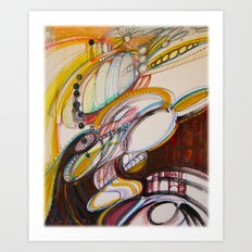 Zero Point Field III Art Print