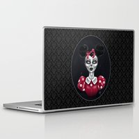 minnie Laptop & iPad Skins featuring Minnie M. by M. Adeline Nef