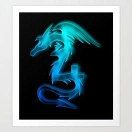 Dragon No.4 Art Print