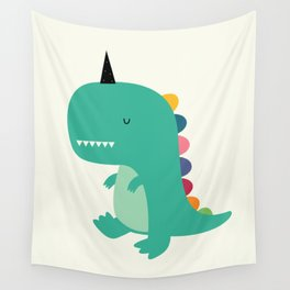 Dinocorn Wall Tapestry
