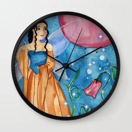 Magick Night Fairy Wall Clock