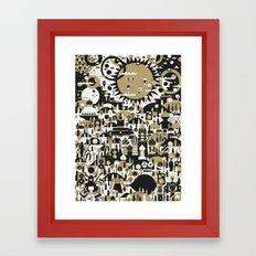 SUNNY LAVISTA Framed Art Print
