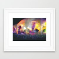 bokeh Framed Art Prints featuring Bokeh by Ben K Adams