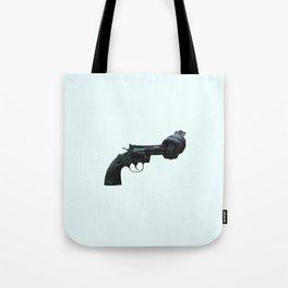 Non-violence Revolver Tote Bag