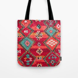 18 - Traditional Colored Epic Anthique Bohemian Moroccan Artwork Tote Bag
