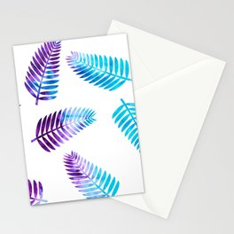 Ice-Dyed Palms Stationery Cards