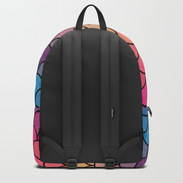 Watercolor Lovely Pattern CI Backpack