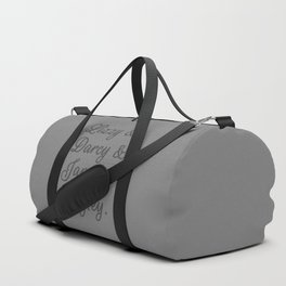 The Pride and Prejudice Couples I Duffle Bag