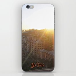 Tramonto a Genova 2 iPhone Skin