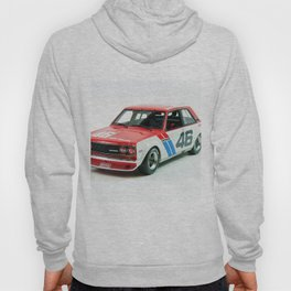 BRE Racing 510 Vintage JDM SCCA Championship Classic Automobile No. 2 Hoody