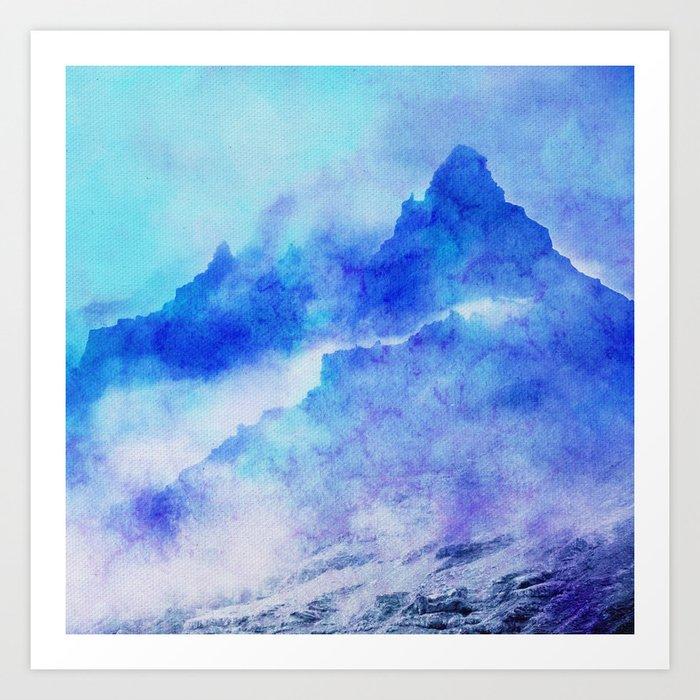 Enchanted Scenery Art Print