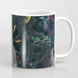 Fractal mouth of Alien Coffee Mug