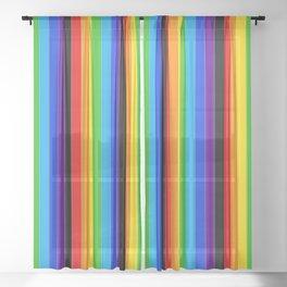 LGBTQ Pride Sheer Curtain