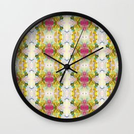 Lots of Feelings Abstract Painting Wall Clock