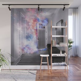 Door of the Galaxy Wall Mural