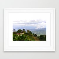 puerto rico Framed Art Prints featuring Puerto Rico by The Ernie Chronicles