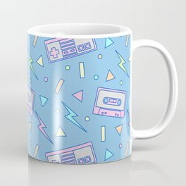 80s Video Games and Mix Tapes Coffee Mug
