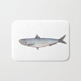 Sardine: Fish of Portgual Bath Mat