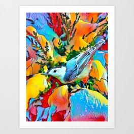 BrightBird Art Print