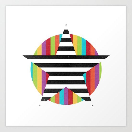 Star & Stripes Art Print