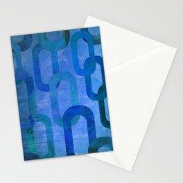 Blue Links Stationery Cards