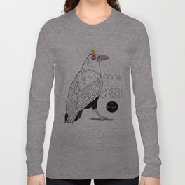 As Rare As the White Crow Long Sleeve T-shirt