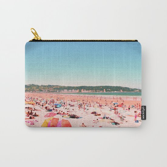 Greetings From The Most Colorful Of Beaches Carry-All Pouch