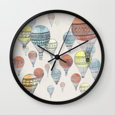 Voyages Wall Clock