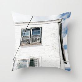 Contrast Throw Pillow