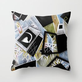 Birth: Promises of the Joy to Come Throw Pillow