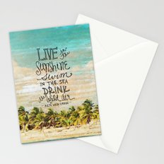 Live In The Sunshine - Photo Inspiration Stationery Cards