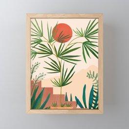 Weekend in Mojave / Desert Landscape Framed Mini Art Print