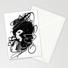Lady Black (2014 Edition) Stationery Cards