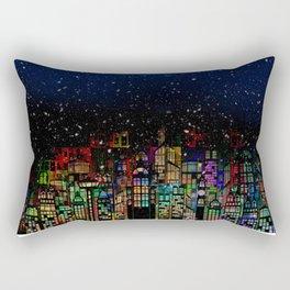 Silent Night Rectangular Pillow