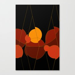 The Yellow One is the Sun Canvas Print