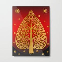 Bodhi Tree0502 Metal Print