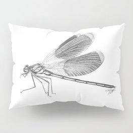 Dragonfly Illustration Pillow Sham