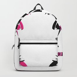 Pink Is The New Black Backpack