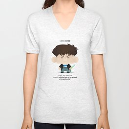 The Second Doctor Unisex V-Neck