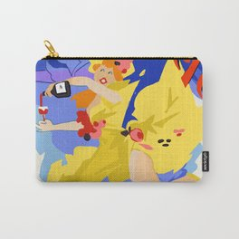 Two Buck Chuck Carry-All Pouch