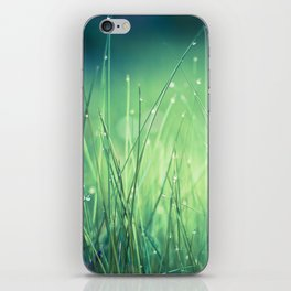 light-water and grass iPhone Skin