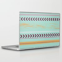 arrow Laptop & iPad Skins featuring arrow. by Wooden Wolves