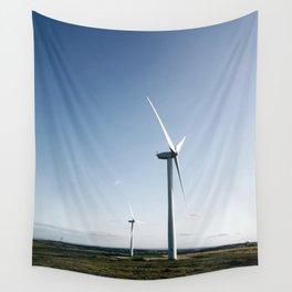 wind turbine in derbyshire Wall Tapestry