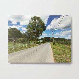 Road Walk •Appalachian Trail Metal Print