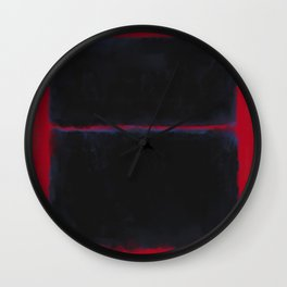 Rothko Inspired #6 Wall Clock